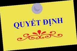 QUYET DINH